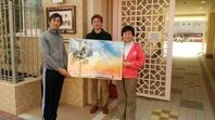 神戸華僑幼稚園作品寄贈の画像
