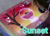 スプレーアート制作動画アップ9の画像