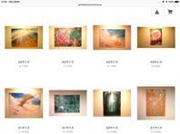 オンラインショップにスプレーアート新作作品を多数追加の画像