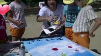スプレーアート体験イベント開催(保育園)の画像