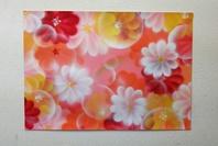 紙を巧みに使ってスプレーで花のイラストを簡単に描く書き方の画像