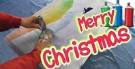サンタクロースのおしゃれなイラストの描き方とクリスマスプレゼント雑学動画アップの画像